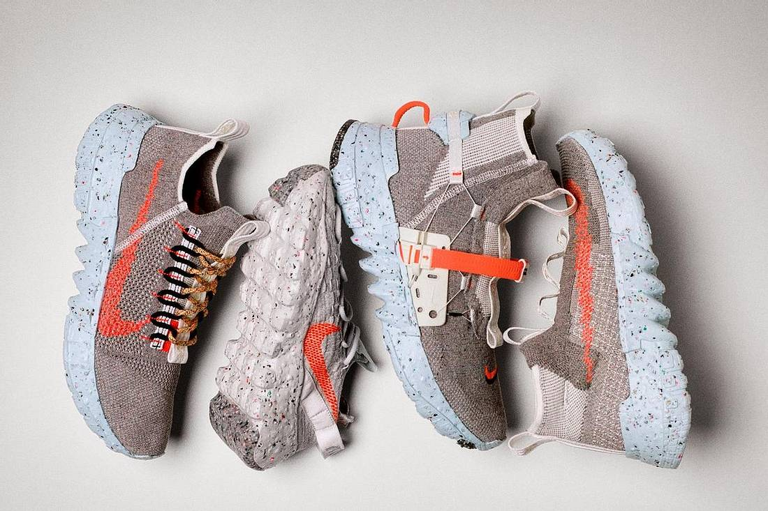 Sneaker der Space Hippie-Kollektion von Nike