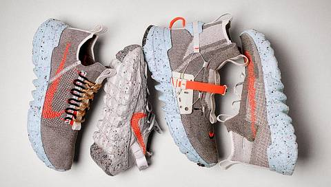 Sneaker der Space Hippie-Kollektion von Nike - Foto: Nike