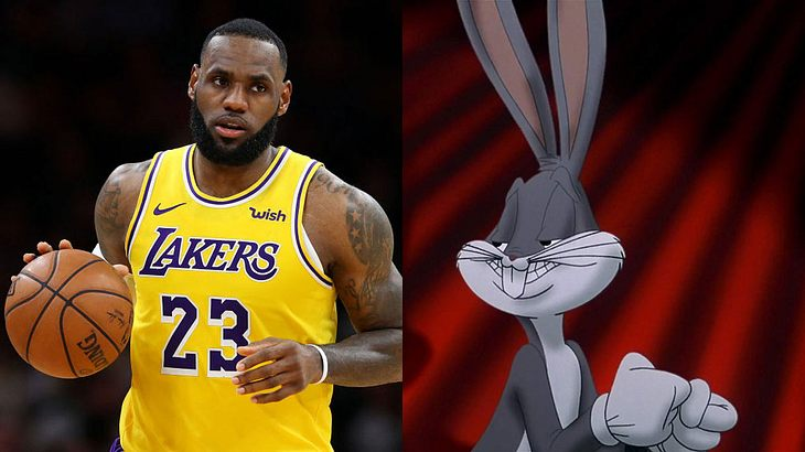 """LeBron James in """"Space Jam 2"""""""