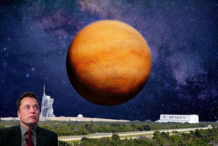Elon Musk und seine Vision von einer bemannten Mars-Mission