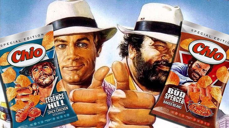 Bud Spencer & Terence Hill als Chio Chips