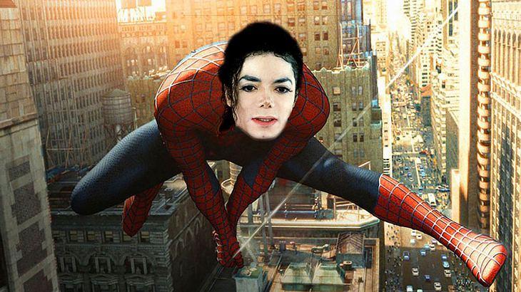 Michael Jackson als Spider-Man?
