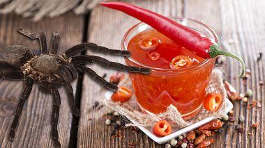 Diese Chili-Soße simuliert den Biss einer Giftspinne