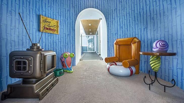Ananas-Haus: Die Pinapple Villa von Spongebob Schwammkopf im Nickelodeon Hotels & Resorts
