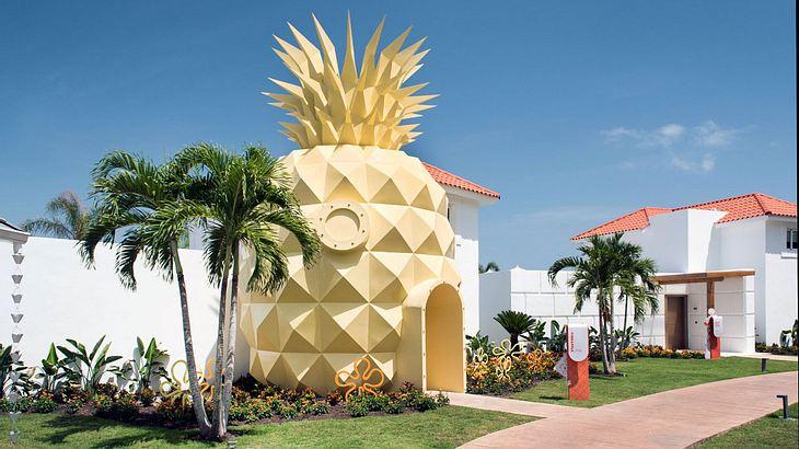 Im dominikanischen Punta Cana befindet sich die ultimative Pilgerstätte für alle Nickelodeon-Jünger: Das Spongebob Schwammkopfs Ananas-Haus