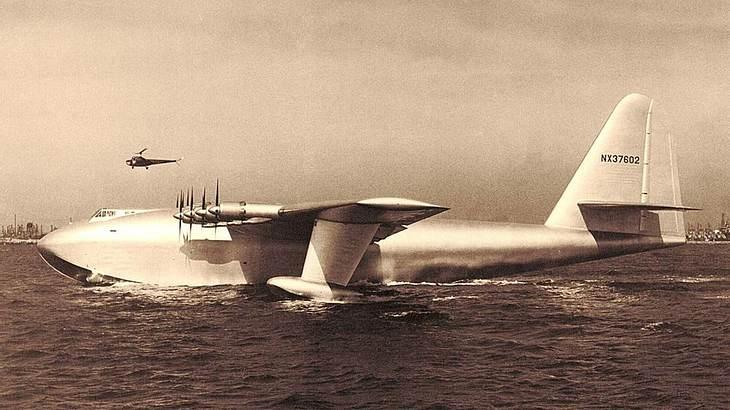 Die Spruce Goose hob nur ein einziges Mal ab