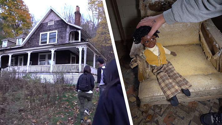 Ein verlassenes Haus hat eine magische Anziehungskraft - Foto: YouTube / Exploring With Josh