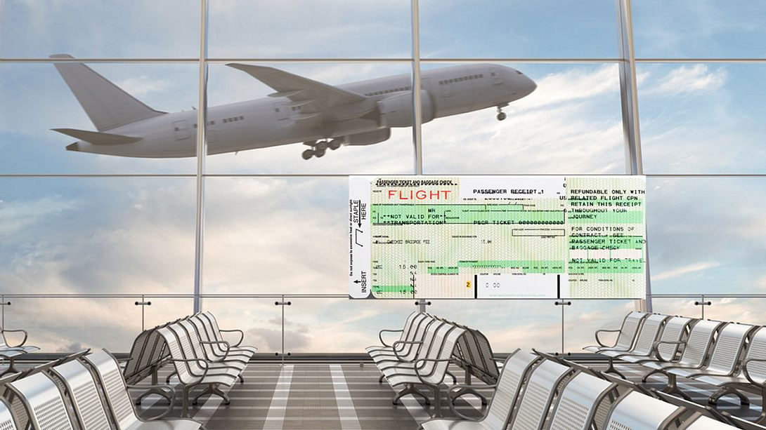 Der SSSS-Code kann Reisenden Probleme machen. - Foto: iStock/dmitriymoroz, iStock/Pgiam