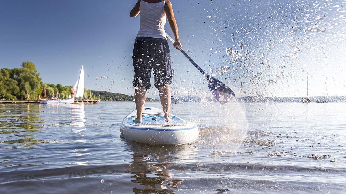 Wahnsinnige Aufnahmen: Stand-up-Paddler trifft auf Riesenkraken
