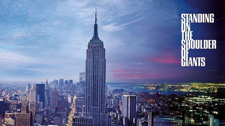 Das Cover des vierten Oasis-Album wurde von Dach des 500 Gebäudes in New York geschossen