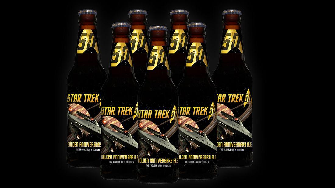 Zum 50. Geburtstag von Star Trek hat die US-Brauerei Shmaltz Brewing zwei Jubiläums Ales gebraut