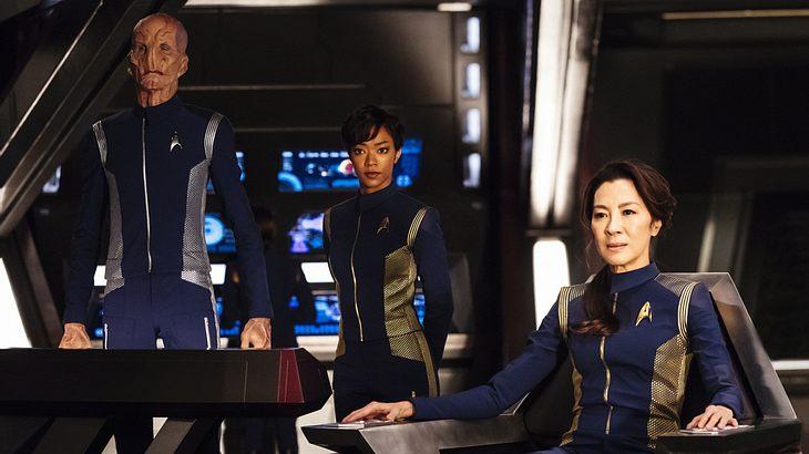 """Sonequa Martin-Green und Michelle Yeoh in """"Star Trek: Discovery""""-Staffel 1 auf Netflix"""