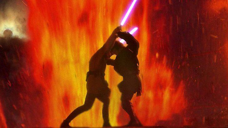 """Obi-Wan und Anakin Skywalker in """"Die Rache der Sith"""""""