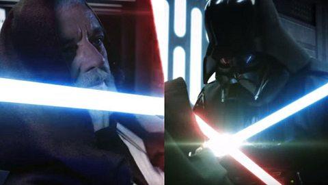 Obi-Wan und Darth Vader im epischen Fanfilm - Foto: YouTube /  FXitinPost
