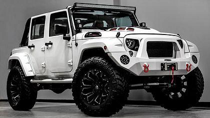 Car Wars: US-Tuner bauen Stormtrooper Jeep Wrangler