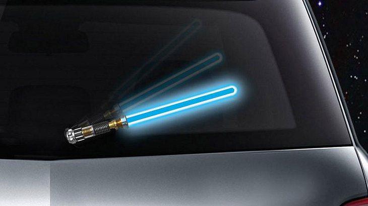 Scheibenwischer im Laserschwert-Look