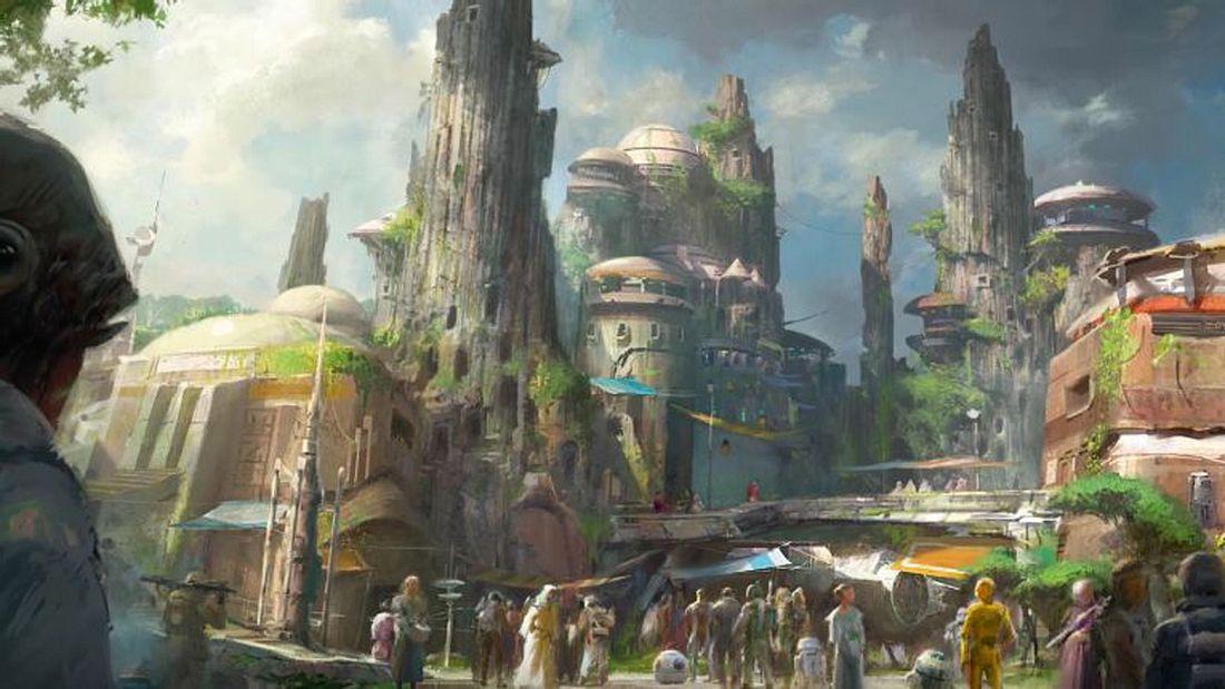 Star Wars-Themenpark soll 2019 in Disneyland und Disney World eröffnenen