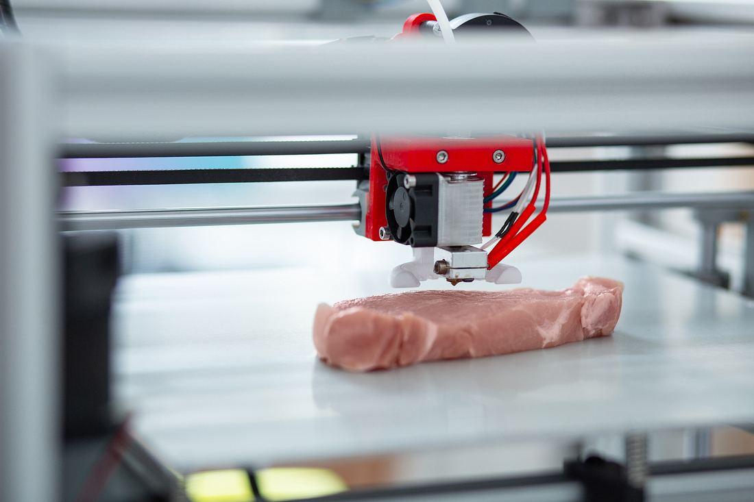 Steak aus dem 3D-Drucker
