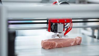 Steak aus dem 3D-Drucker - Foto: iStock / Zinkevych