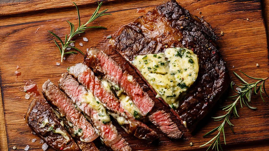 Steak - des Mannes beliebtestes Fleisch