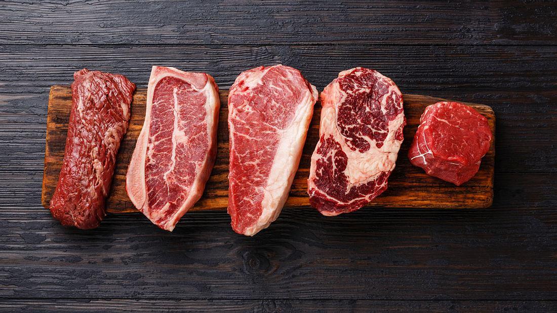 Eine feine Steak-Auswahl