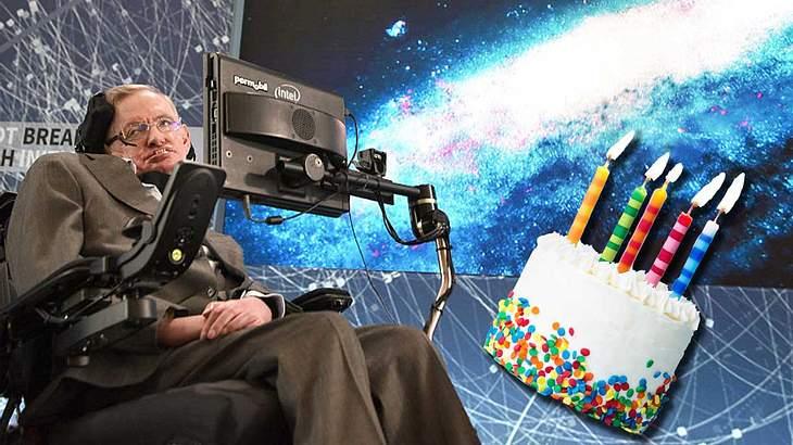 Stephen Hawking wurde gestern 76 Jahre