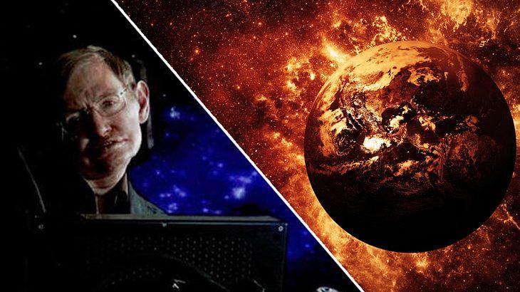 Stephen Hawking sagt Weltuntergang voraus
