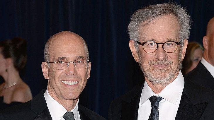 Steven Spielberg (rechts) und Jeffrey Katzenberg