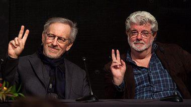 Steven Spielberg (links) und George Lucas - Foto: Getty Images / Valerie Macon