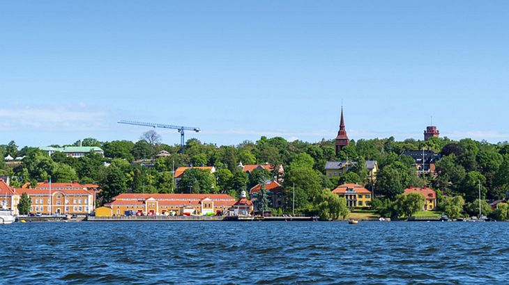 Ein Blick auf Djurgården