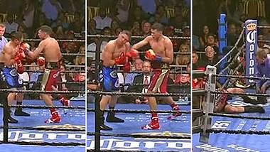 Street Fighter Style: Boxer zerstört Gegner mit 10-Hit-Kombo