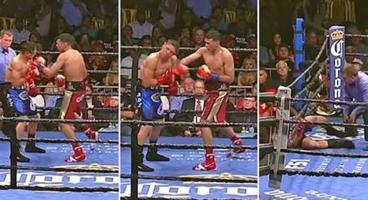 Street Fighter Style: Boxer David Benavidez knockt seinen Gegner Rogelio Medina mit einer 10-Hit-Kombo aus