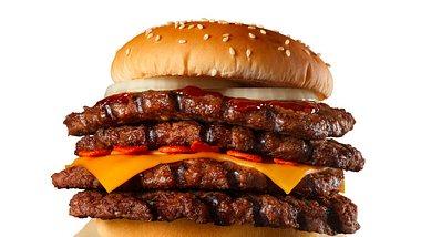 Strong Magma Burger - Foto:  Burger King Japan