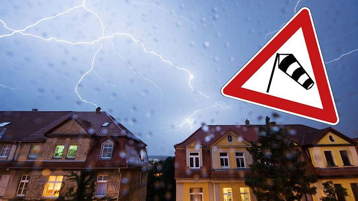 Sturmtief Quitta bläst über Deutschland