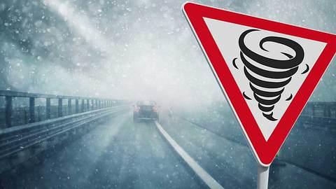 Wetter-Warnung: Sturmtief Friederike prallt heute auf Deutschland