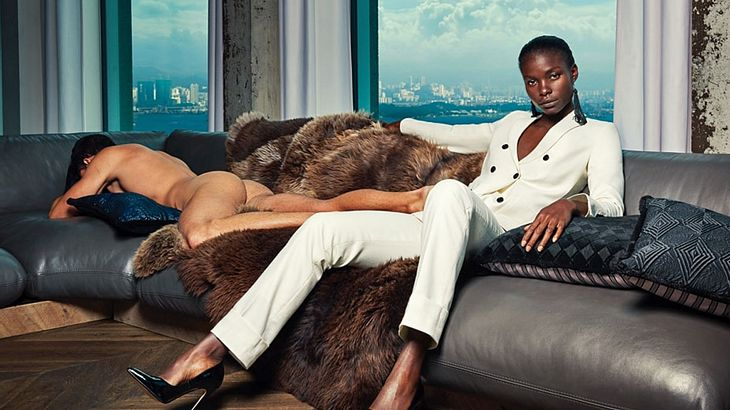 Sexismus: Dieses Modelabel provoziert mit nackten Männern