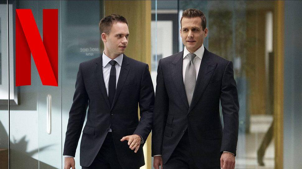 Patrick J. Adams & Gabriel Macht in Suits - Foto: IMAGO / Mary Evans
