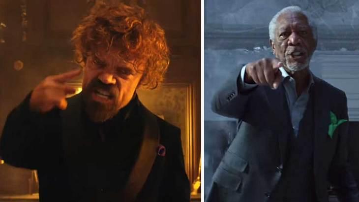 Peter Dinklage rappt gegen Morgan Freeman