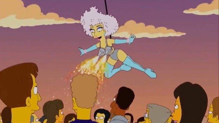Die Simpsons haben Lady Gagas Performance beim Superbowl 2017 vorhergesagt