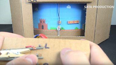 Super Mario: Bastle dir mit Pappe dein eigenes Kult-Spiel