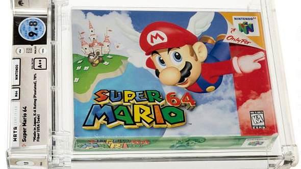 Super Mario 64 zum Rekordpreis versteigert - Foto: Auktionshaus Heritage Auctions