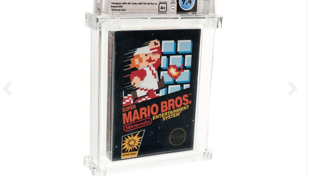 Super Mario Bros. für das NES - Foto: Heritage Auctions