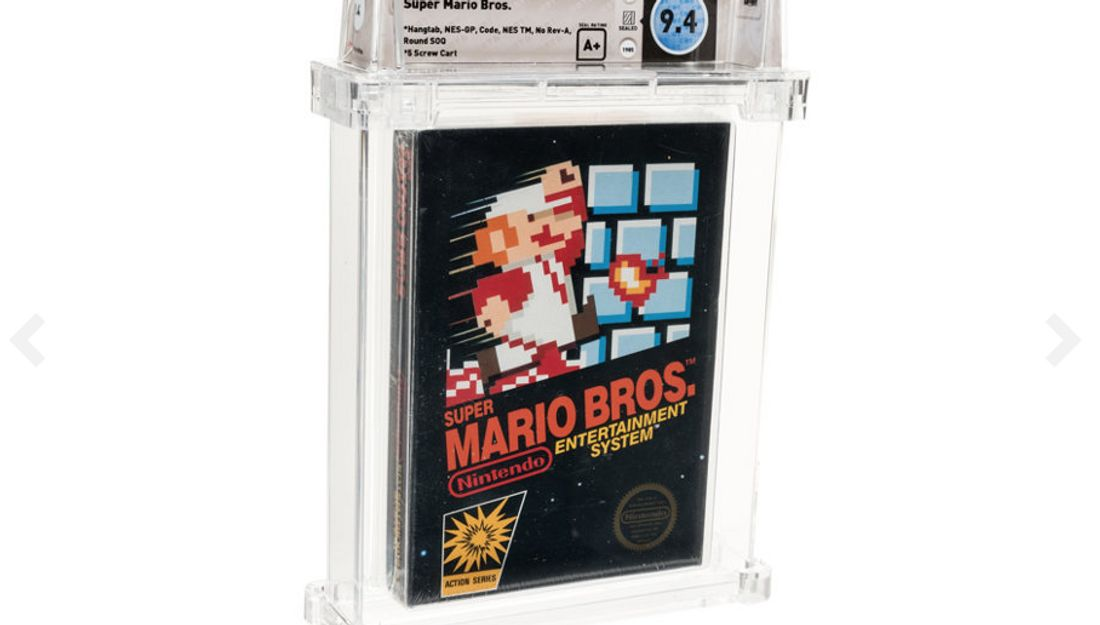 Super Mario Bros. für das NES