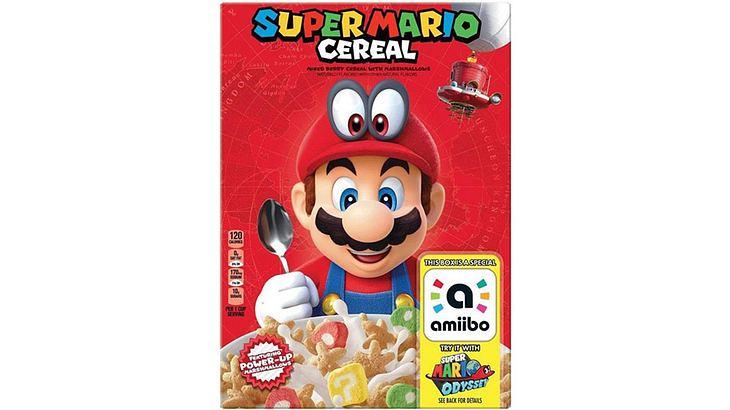 Die Super Mario Cornflakes von Kellogg's