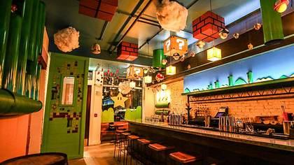 Cherry Blossom Pub: Die Super-Mario-Konzept-Bar in Wahsington D.C. - Foto: FARRAH SKEIKY / CHERRY BLOSSOM PUB