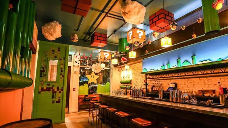 Cherry Blossom Pub: Die Super-Mario-Konzept-Bar in Wahsington D.C.