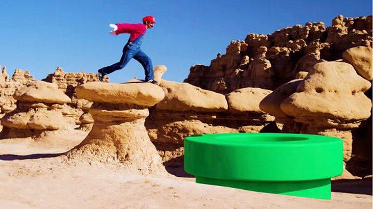 Devinsupertramp: YouTuber soielt Super Mario Run in echt nach