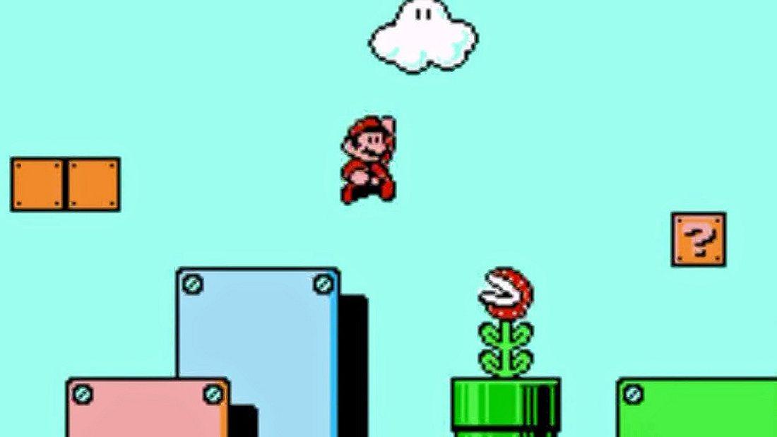 Deshalb läuft Super Mario von links nach rechts