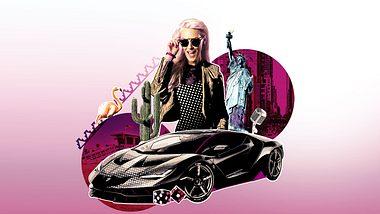 Alex Hirschi in Supercar-Blondie auf DMAX - Foto: DMAX
