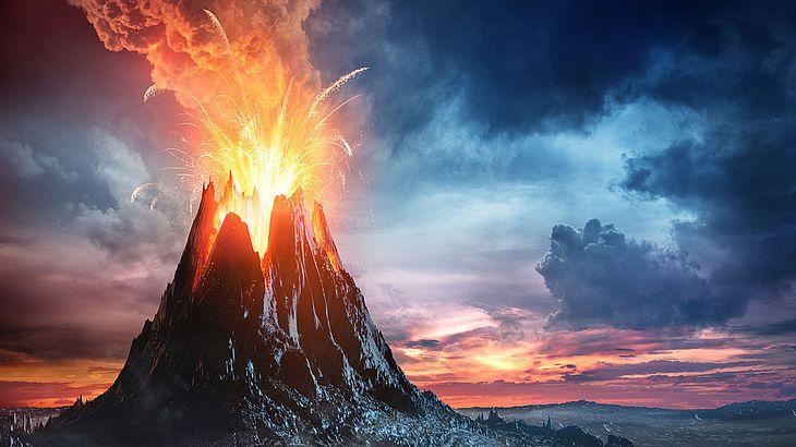 Die NASA will einen Supervulkanausbruch verhindern (Symbolfoto).